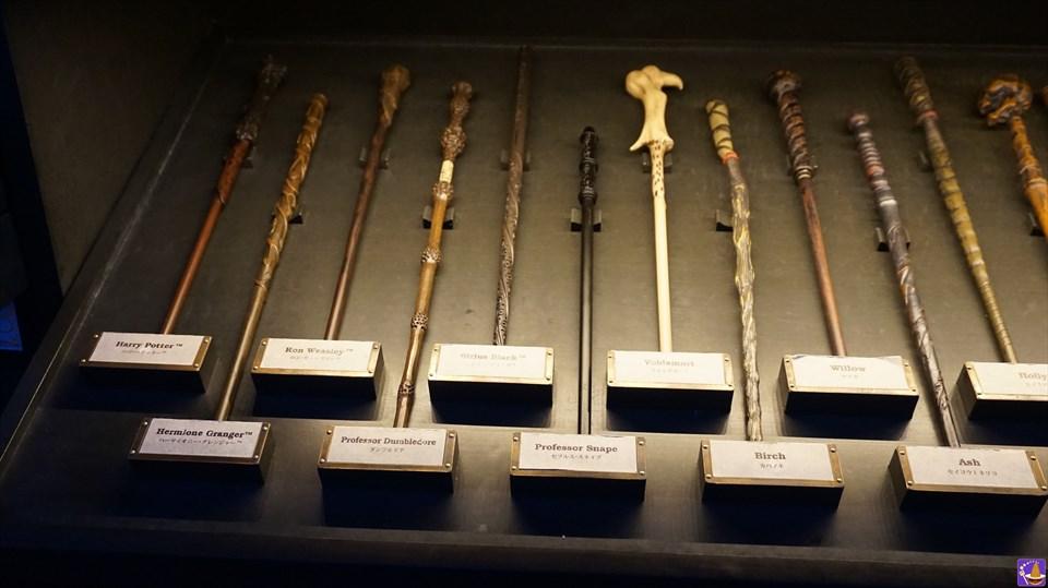 マジカルワンド:ハリーポッターに登場するキャラクター杖 7種類 USJハリーポッターエリア