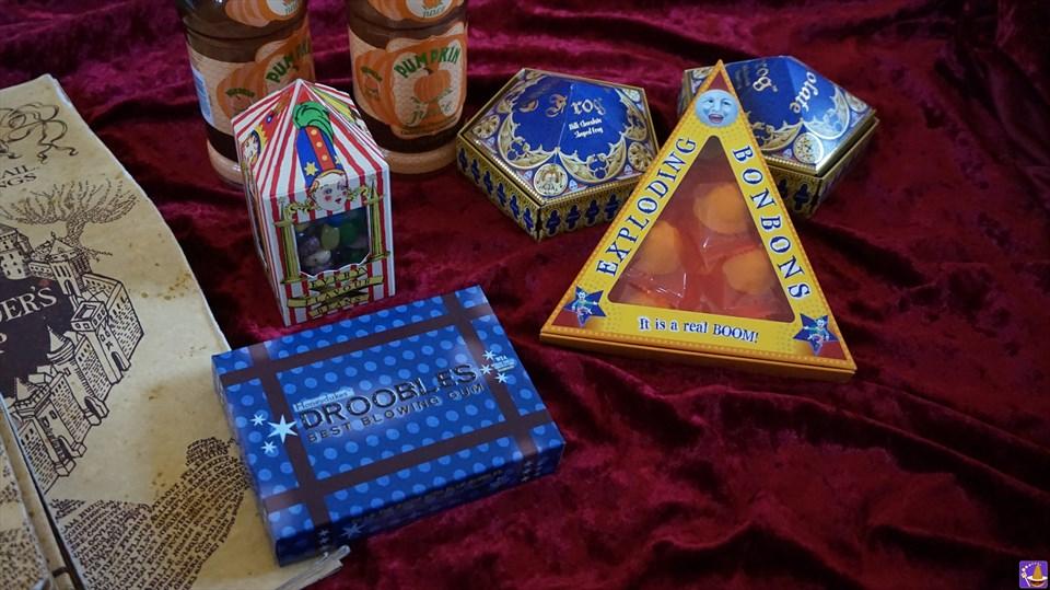 楽しい魔法界のお菓子『爆発ボンボン』を食べてみよう♪ハニーデュークス(USJハリポタ)魔法使いパンケーキマン ダンブルドア