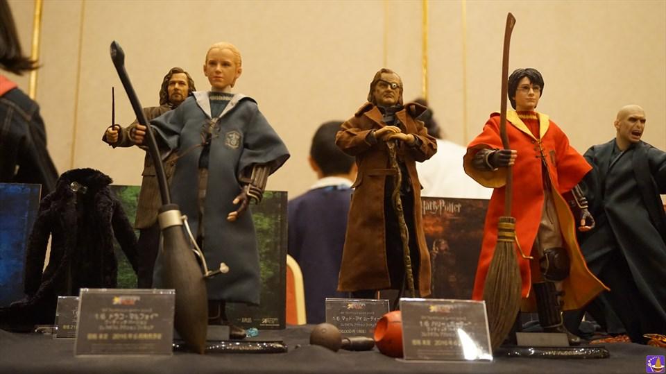 ハリー&ハリー、ドラコ&ドラコ!?が出会った(笑)『ハリコン9』スターエースブースにて 魔法使いパンケーキマン ダンブルドア