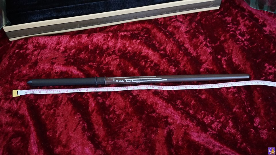 ドラコ・マルフォイの魔法の杖の購入レポート&トムフェルトンのサイン♪(ハリコン9)魔法使いパンケーキマン ダンブルドア