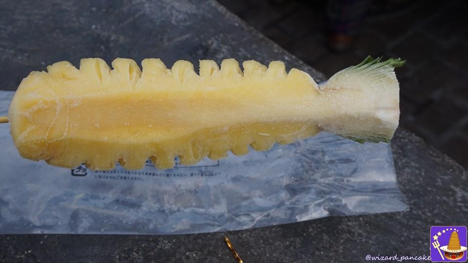 夏の暑いホグズミード村は冷凍果実パインアップル&マンゴーで涼しく美味しく過ごそう♪(USJハリポタ)魔法使いパンケーキマン ダンブルドア