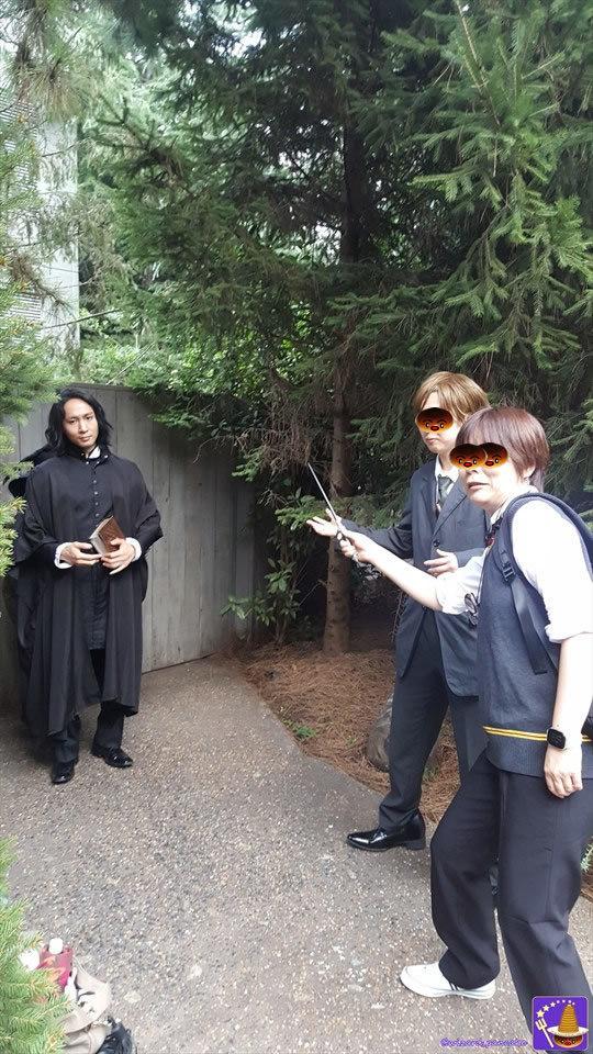 2017年ハリポタ仮装レポートVol1;USJ魔法界もハロウィンシーズンに突入♪ダンブルドアでホグワーツへ登校♪ルーピン先生の授業を受ける!?魔法使いパンケーキマン・ダンブルドア