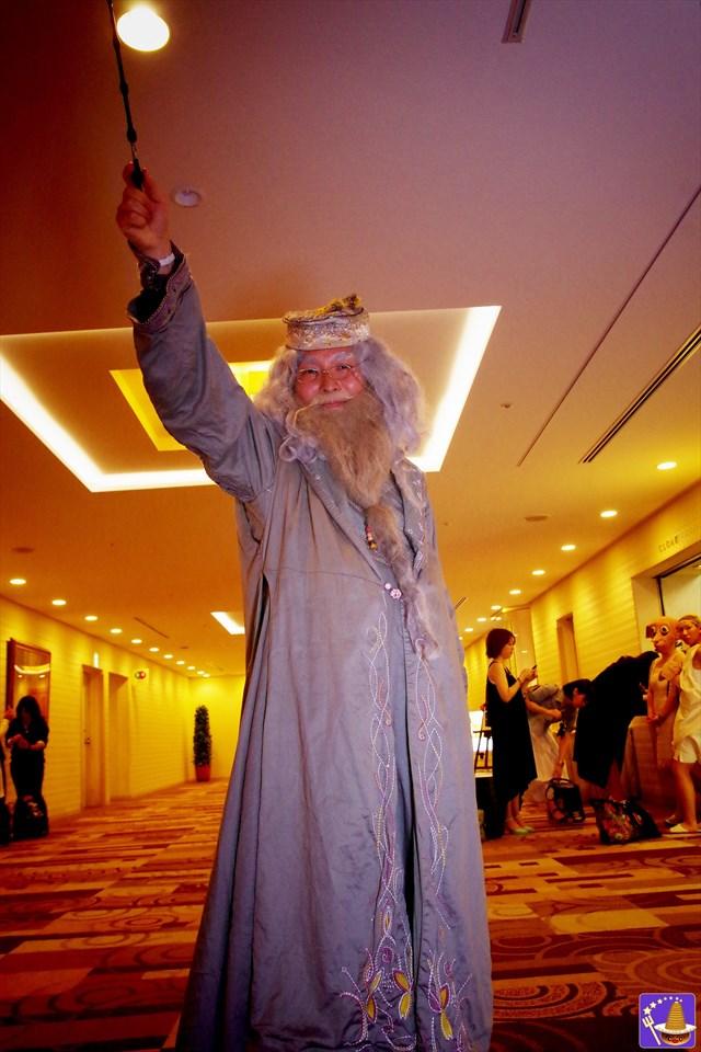ハリコン9 マルフォイ親子と記念撮影&サイン会 2016/5/7(土)8(日)開催に行って来た♪魔法使いパンケーキマン ダンブルドア