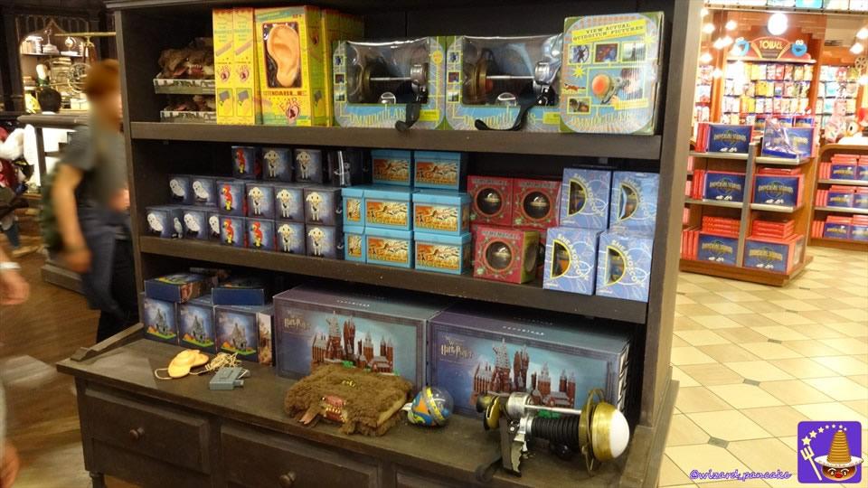 お店情報:ユニバーサルスタジオストアは天文学の部屋!?(ハリポタのレプリカグッズ&お土産)(USJハリポタエリア外)魔法使いパンケーキマン・ダンブルドア