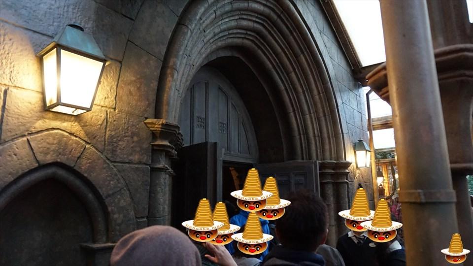 ホグワーツキャッスルウォーク 廊下 魔法使いパンケーキマン