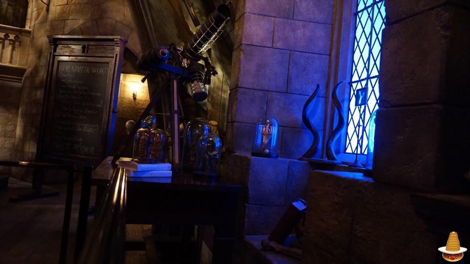 ホグワーツキャッスルウォーク 闇の魔術の防衛術の教室 魔法使いパンケーキマン