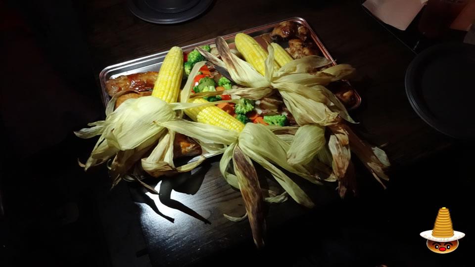 グレートフィースト(大皿料理)三本の箒(USJハリポタ)魔法使いパンケーキマン