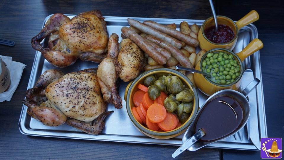 クリスマス限定食事メニュ ホリデーフィーストで祝おう♪USJ魔法界の三本の箒 魔法使いパンケーキマン