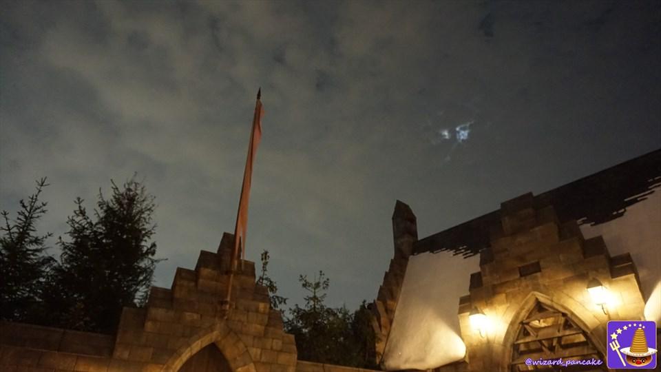 デスイーター・アタック!ホグズミードの夜は死喰い人VS村の魔法使い達の戦いの幕開け!(USJハリポタ・ハロウィン新ショー)魔法使いパンケーキマン・ダンブルドア