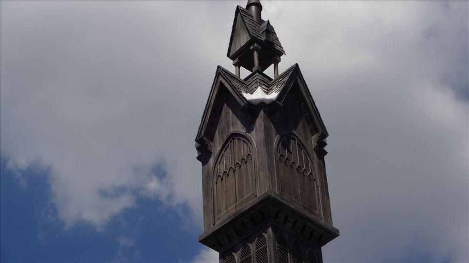 ふくろう小屋の時計台(ホグズミード)ハリポタUSJ 魔法使いパンケーキマン