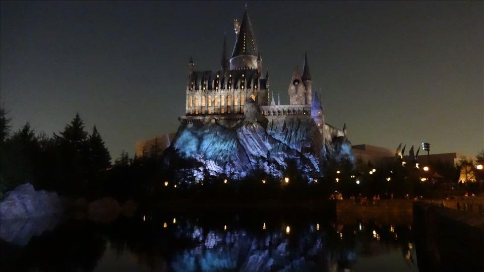 ホグワーツ城(ハリポタUSJ)魔法使い パンケーキマン