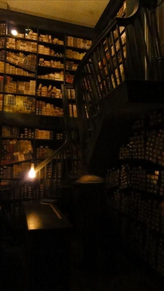 オリバンダーの杖店で、魔法使いの杖を選んでもらう(ハリポタUSJ)魔法使い パンケーキマン