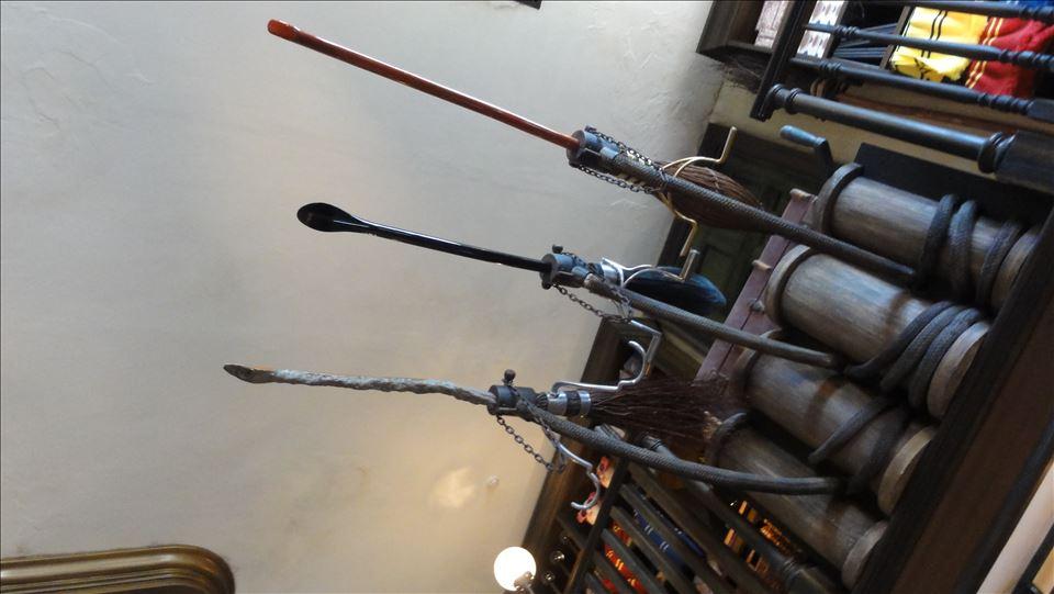 ニンバス2001、ファイアボルトは、ダービシュ・アンド・バングズ(ハリポタUSJ)魔法使い パンケーキマン